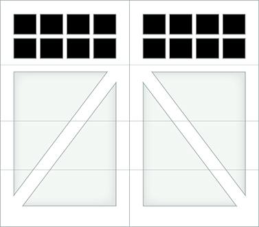 DA08S - Single Door
