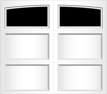 R001A - Single Door Single Arch