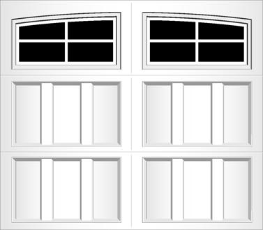 R204A - Single Door Single Arch