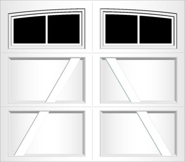 RA02A - Single Door Single Arch