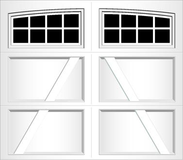 RA08A - Single Door Single Arch