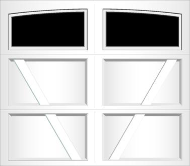 RV01A - Single Door Single Arch