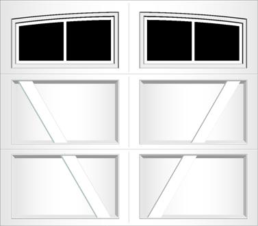 RV02A - Single Door Single Arch