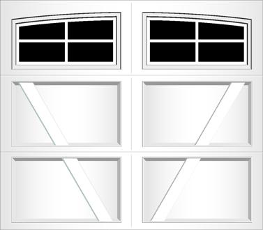 RV04A - Single Door Single Arch