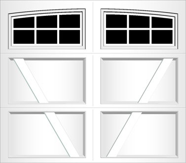 RV06A - Single Door Single Arch