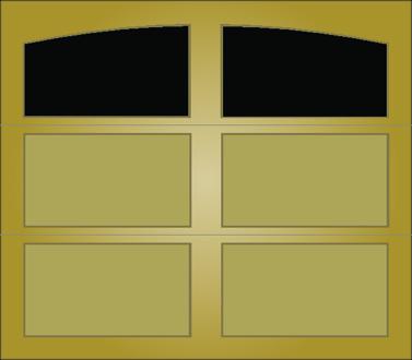 T001A - Single Door Single Arch