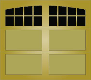 T008A - Single Door Single Arch