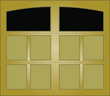 T101A - Single Door Single Arch
