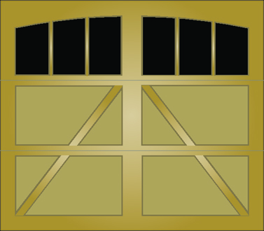 TA03A - Single Door Single Arch